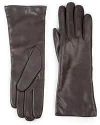 Saks Fifth Avenue - Cashmere-lined Leather Gloves - Lyst