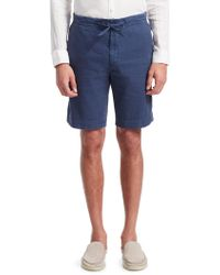 Loro Piana - Stretch Drawstring Shorts - Lyst