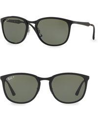 Ray-Ban - Round Tortoise Sunglasses - Lyst