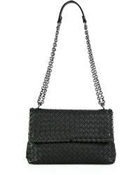 Bottega Veneta - Olimpia Small Intrecciato Leather Shoulder Bag - Lyst