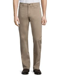 Peter Millar - Crown Sateen Stretch Five-pocket Trousers - Lyst