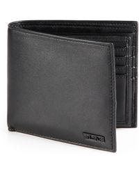 Tumi - Leather Flip Id Wallet - Lyst