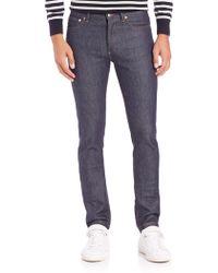A.P.C. - Petit New Standard Skinny Fit Jeans - Lyst