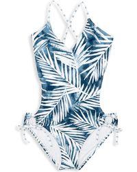 Splendid - Girl's Stormy Story One-piece Swimsuit - Lyst