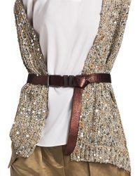 Brunello Cucinelli - Leather Belt - Lyst