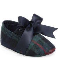 Ralph Lauren - Baby's Briley Plaid Flats - Lyst