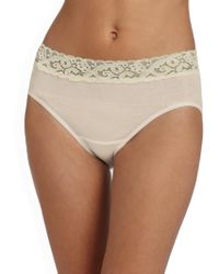 Hanro - Moments Cotton Hipster Brief - Lyst