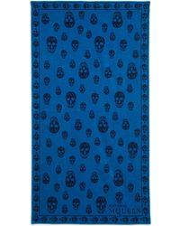 Alexander McQueen - Skull Beach Towel - Lyst