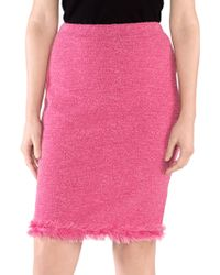 Stizzoli - Frayed Pencil Skirt - Lyst