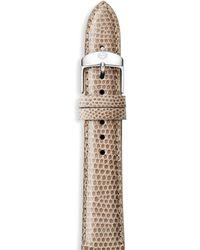 Michele Watches - Lizard Watch Strap/18mm - Lyst
