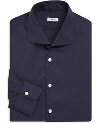 Kiton - Regular Fit Dress Shirt - Lyst