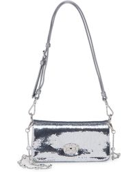 Miu Miu - Sequin Chain Small Crossbody - Lyst