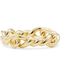 David Yurman - Continuance Ring In 18k Gold - Lyst