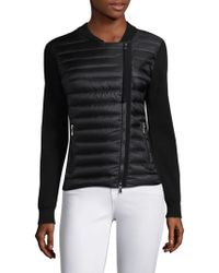 Moncler - Maglia Wool Zip-front Jacket - Lyst