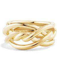 David Yurman - Continuance Ring In 18k Gold - Lyst