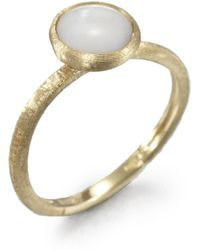 Marco Bicego - Jaipur Resort Mother-of-pearl & 18k Yellow Gold Ring - Lyst