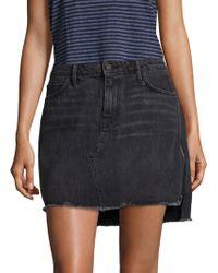 Sandrine Rose - Denim Five-pocket Mini Skirt - Lyst