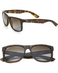 Ray-Ban | Gradient Rectangle 54mm Sunglasses | Lyst