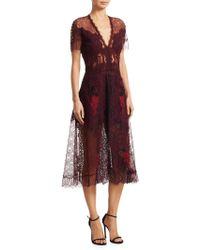 Jonathan Simkhai   Lariat Lace Midi Dress   Lyst