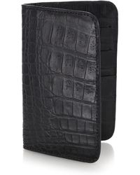 Santiago Gonzalez   Crocodile Small Wallet   Lyst