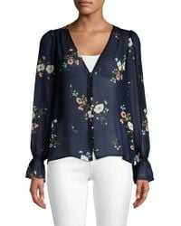 Joie - Bolona C Blouse In Midnight Floral - Lyst