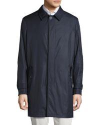 Saks Fifth Avenue - Lightweight Wool Raincoat - Lyst