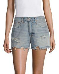 Polo Ralph Lauren - Sophia Cutoff Shorts - Lyst