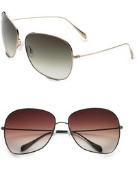 Oliver Peoples | Elsie Round Sunglasses | Lyst