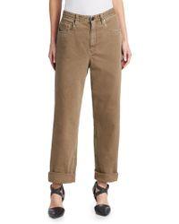 Brunello Cucinelli - Garment-dyed Jeans - Lyst