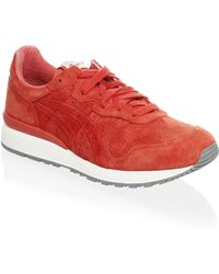 Onitsuka Tiger - Ally Suede Running Sneakers - Lyst
