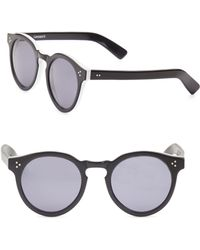 Illesteva - Leonard 53mm Round Sunglasses - Lyst