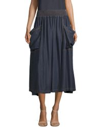 Donna Karan - Pull-on Cargo Skirt - Lyst