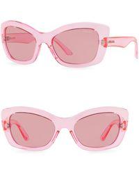 Prada - Postcard 56mm Cat Eye Sunglasses - Lyst