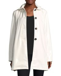 Jane Post - High Shine Slicker Coat - Lyst