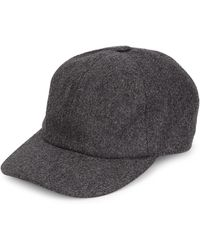 Brunello Cucinelli - Flannel Baseball Hat - Lyst