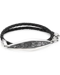 King Baby Studio - Armor Hammered Sterling Silver Cuff - Lyst