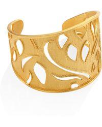 Stephanie Kantis   Heraldry Royal Cuff Bracelet   Lyst