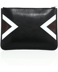 Neil Barrett | Modernist Large Leather Pouch | Lyst