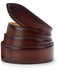 Corthay - Carmel Brulee Patina Leather Belt - Lyst