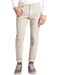 Brunello Cucinelli - Five-pocket Denim Jeans - Lyst