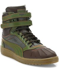PUMA - Sky Ii Hi Duck Leather Boots - Lyst