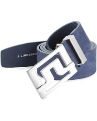 J.Lindeberg - Leather Belt - Lyst