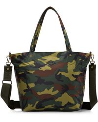 MZ Wallace - Camouflage-print Tote - Lyst