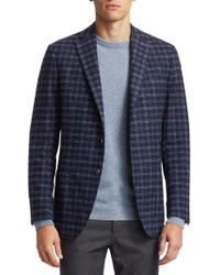 Saks Fifth Avenue - Collection Boucle Plaid Sportcoat - Lyst