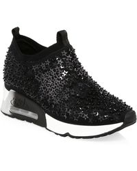 Ash - Lightning Star Sequined Sneakers - Lyst
