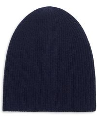 Saks Fifth Avenue - Cashmere Hat - Lyst