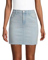 J Brand - Lyla Denim Mini Skirt - Lyst