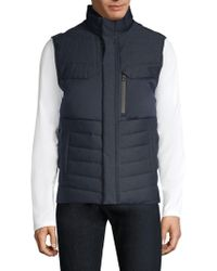 Tumi - Outerwear Heritage Reversible Down Vest - Lyst