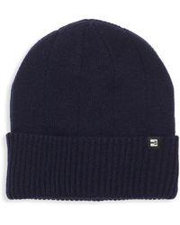 Block Headwear - Rib Cuff Cotton Beanie - Lyst