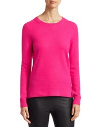 Saks Fifth Avenue - Collection Featherweight Long Sleeve Cashmere Sweater - Lyst
